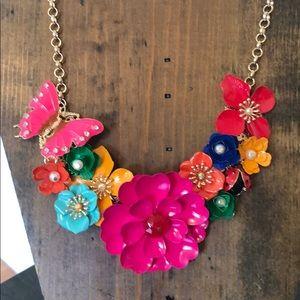 Floral Rainbow Necklace